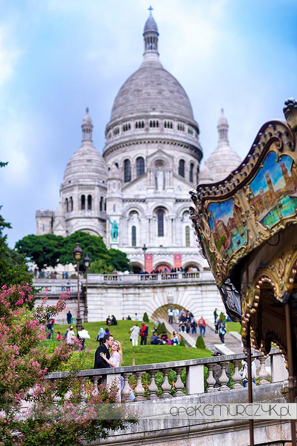 plener ślubny Paryż