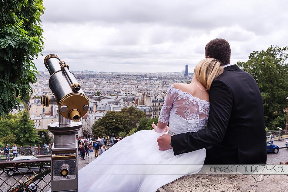 Paryż-idealne miasto na sesję ślubna