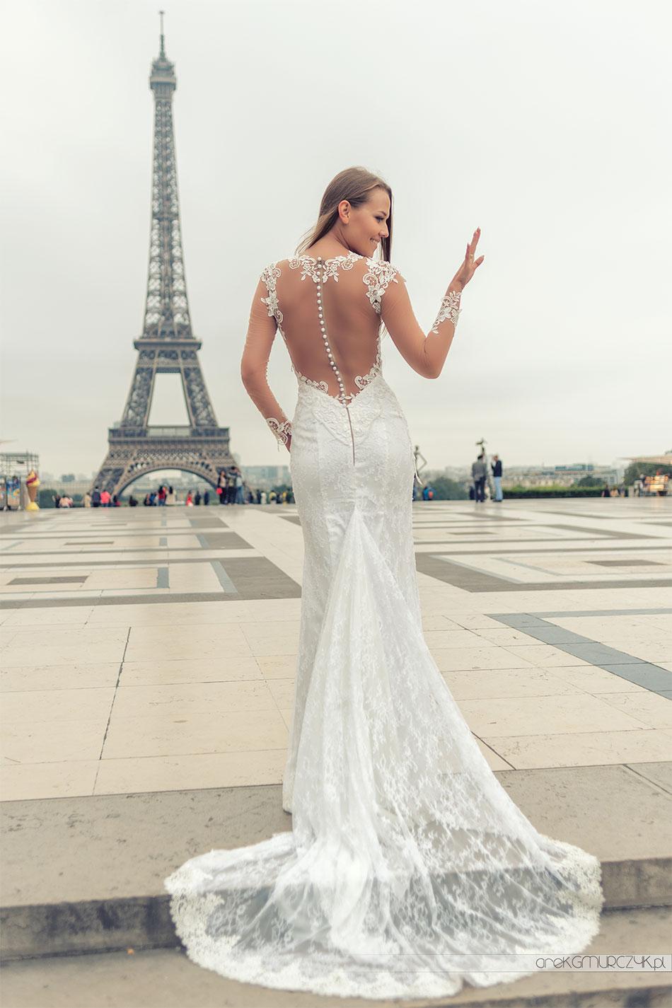 Paryż. Najpiękniejsze zdjęcia ślubne.