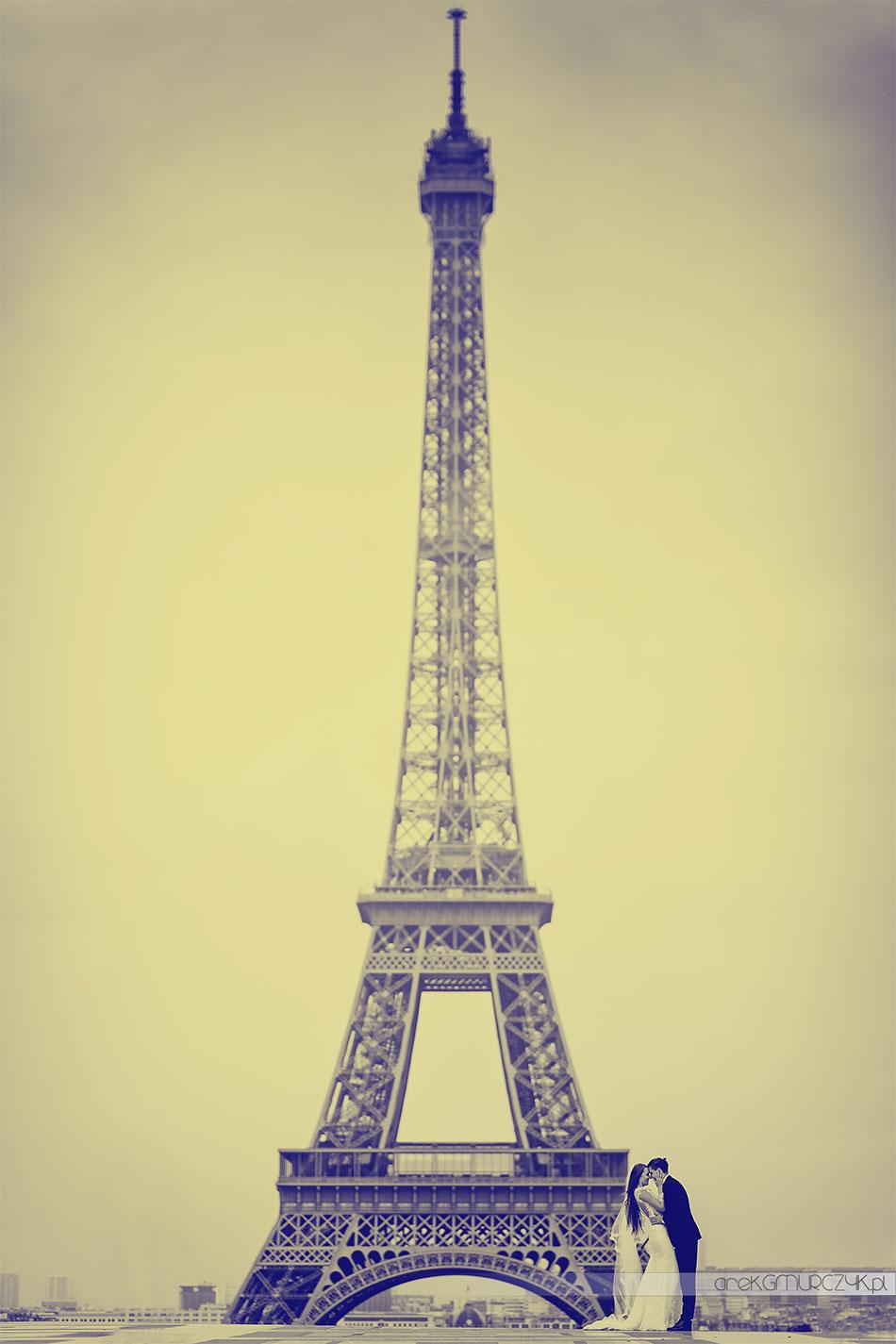 fotograf ślub Paryż