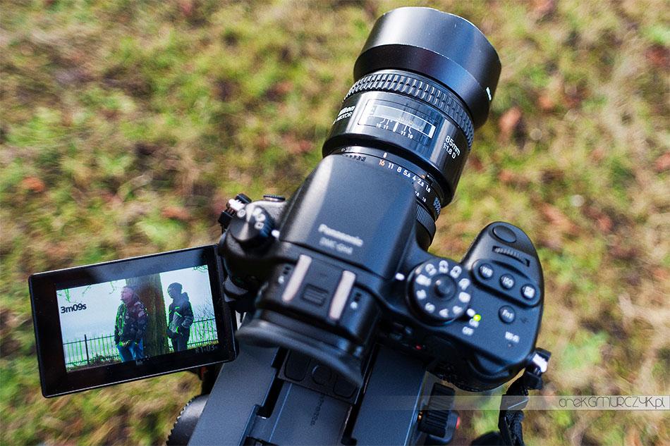 Panasonic GH4 i obiektywy Nikon, duet bardzo fajny :)