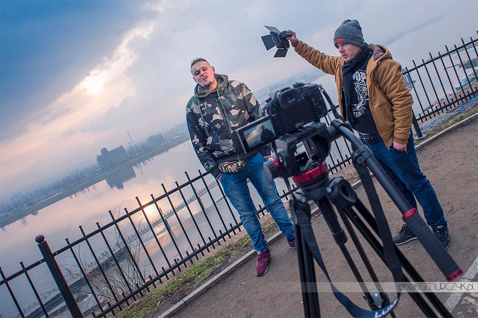 teledyski płock, filmowanie