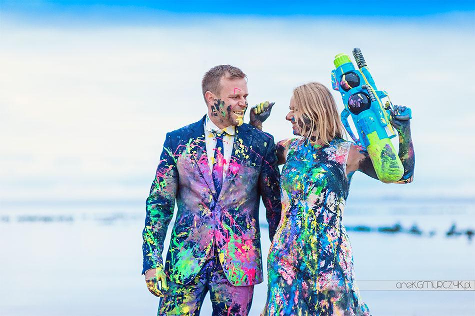 czaderska sesja ślubna