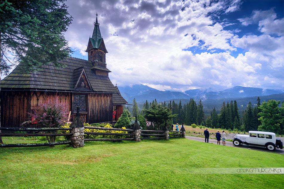 Ślub w Kaplicy na Płazówce. Fotograf ślubny Zakopane Arek Gmurczyk