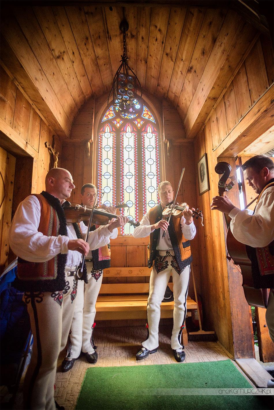 Góralska kapela ślub Zakopane