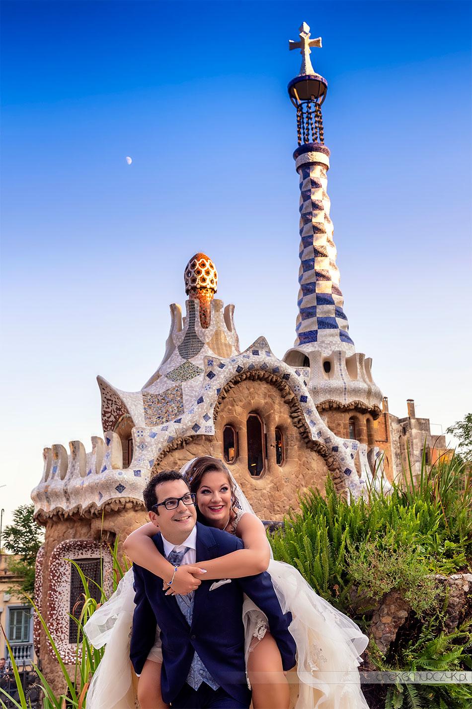 sesja ślubna w Barcelonie