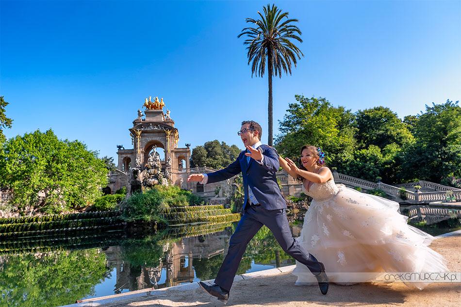 zwariowana sesja ślubna