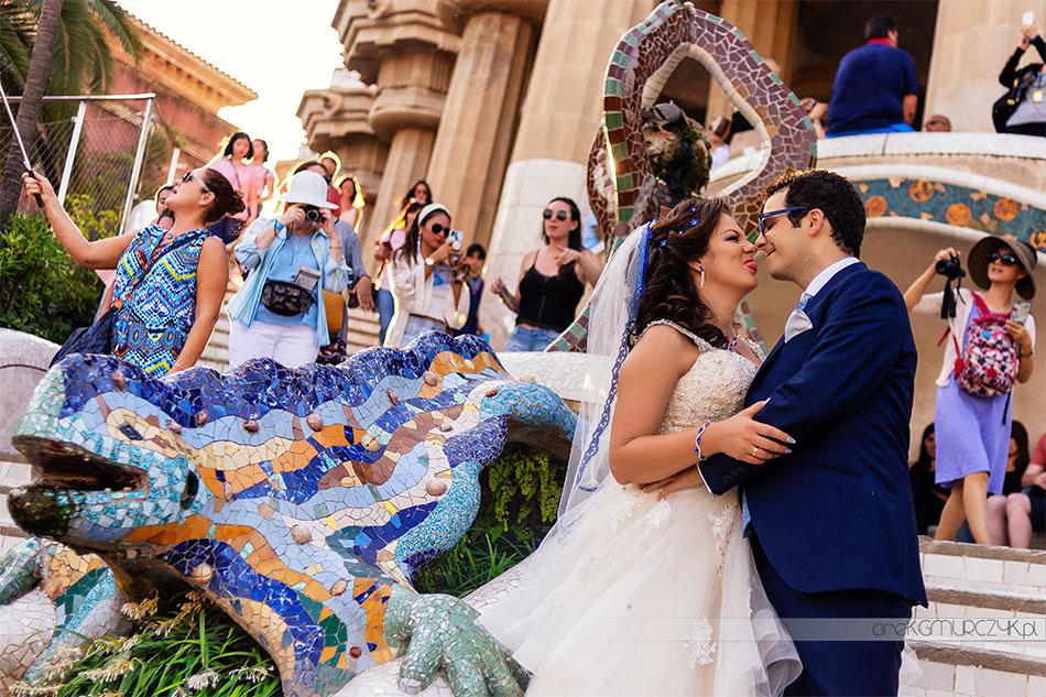 zdjęcia ślubne Barcelona