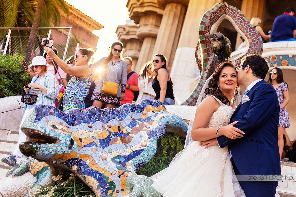zagraniczna sesja ślubna plener