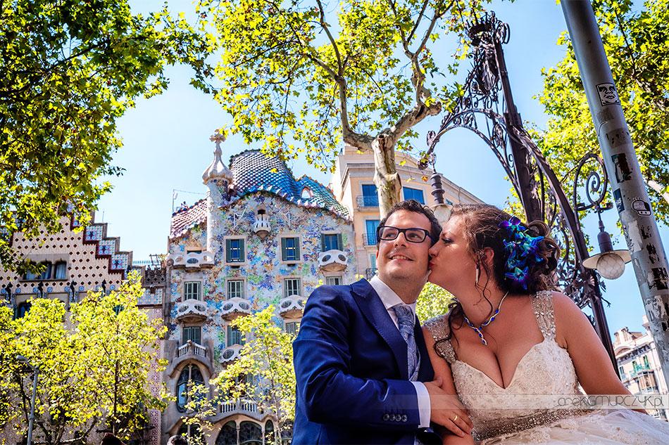 sesja ślubna Casa Milà