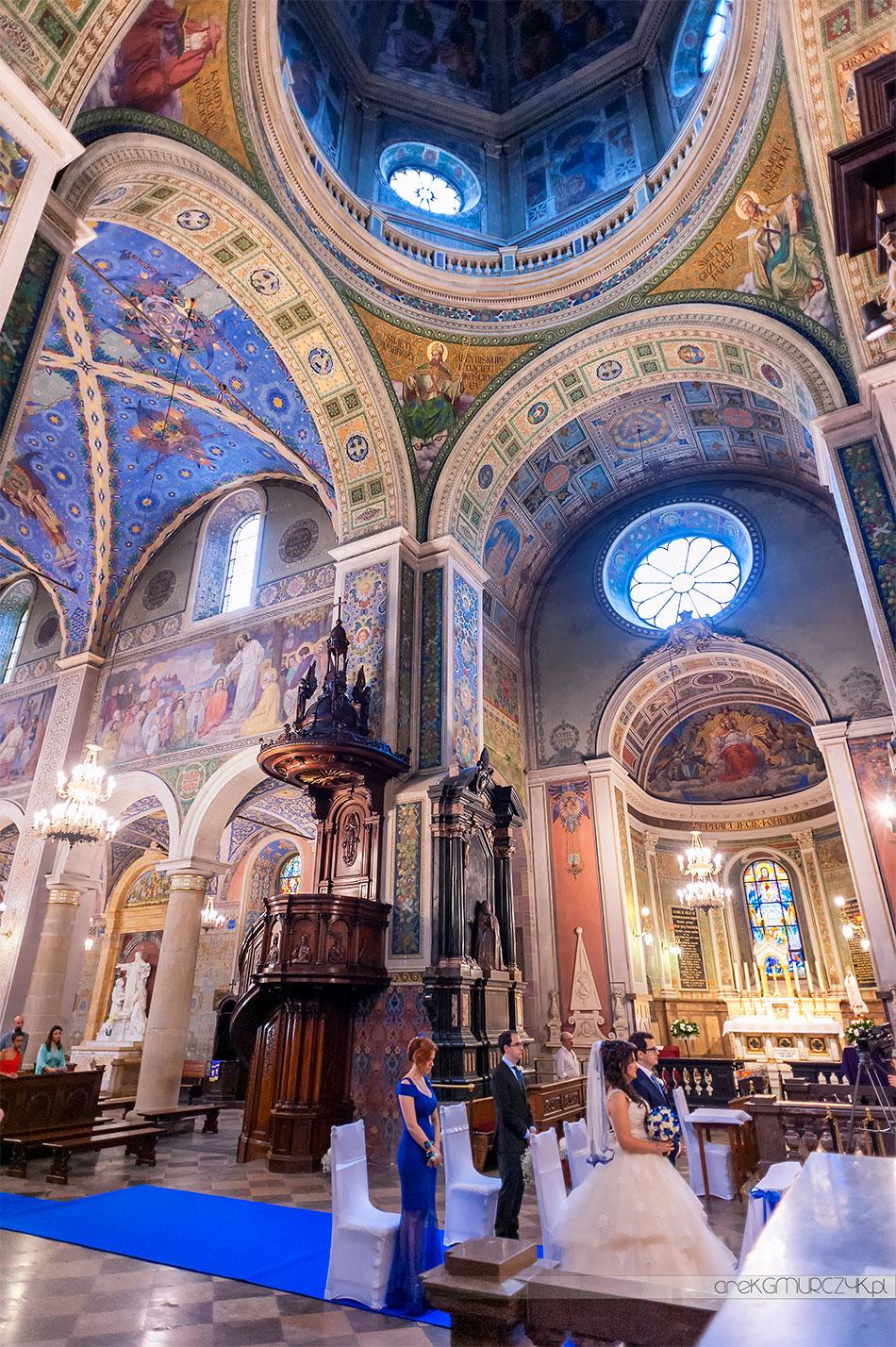 Ślub w płockiej Katedrze