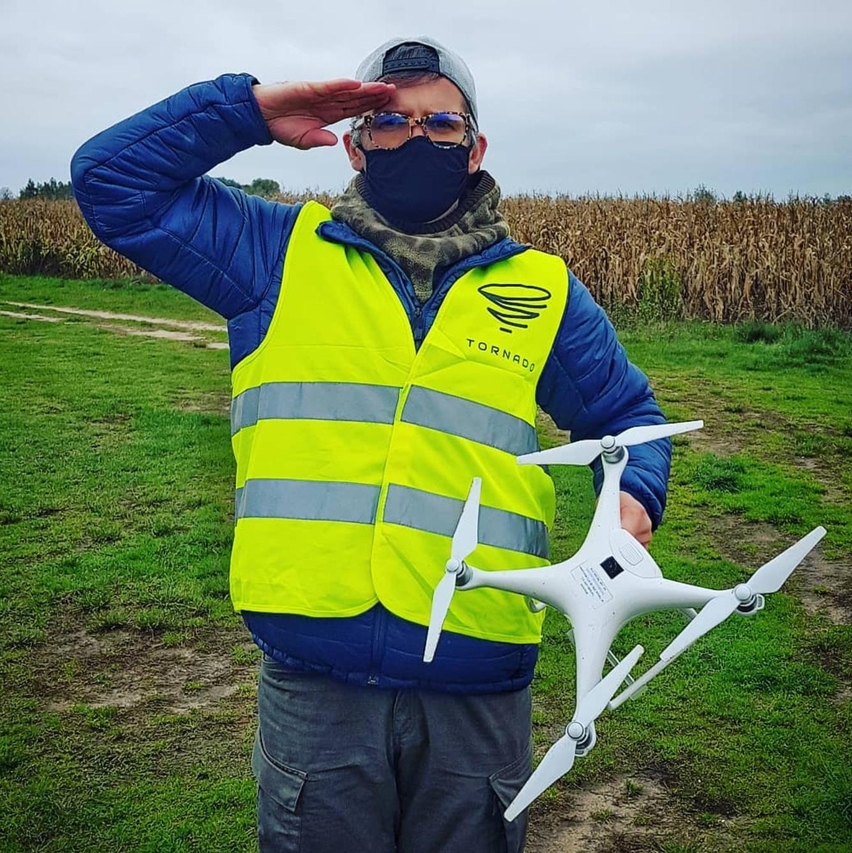 Zdjęcia i filmy z drona w Płocku i na Mazowszu. Świadectwo kwalifikacji.