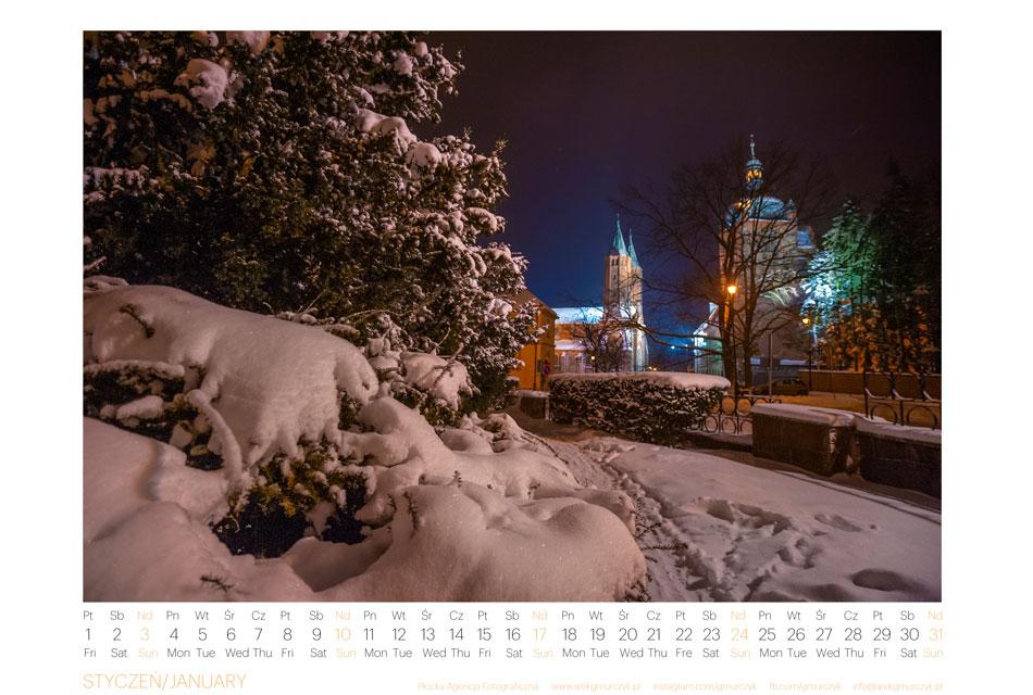 Kalendarz Płock 2021