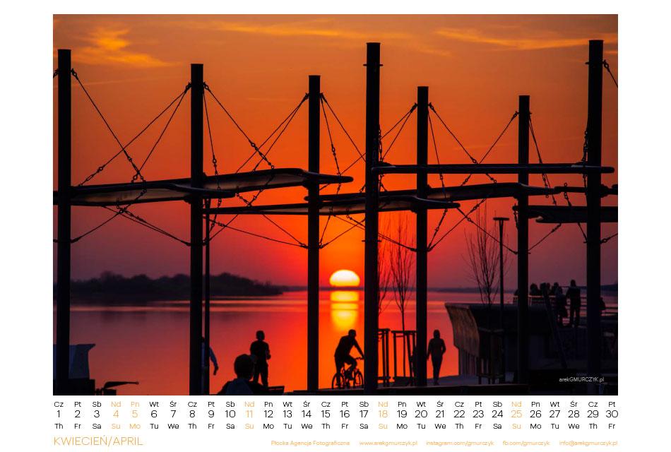 Kalendarz na 2021r z Płockiem