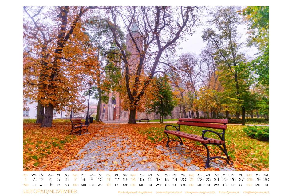 Kalendarza na 2021r z Płocka