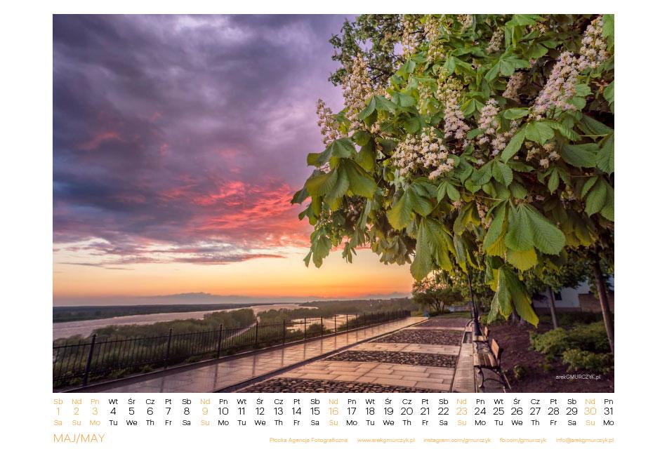 Płocki kalendarz na 2021r Z sercem na Tumskim Wzgórzu